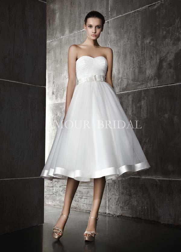 Свадебные платья полусолнце